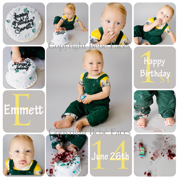 Emmett Guest CakeSmash Collage 2